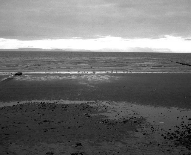 Evening at Ayr Beach