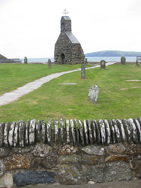 Remains of St Brynach's Church