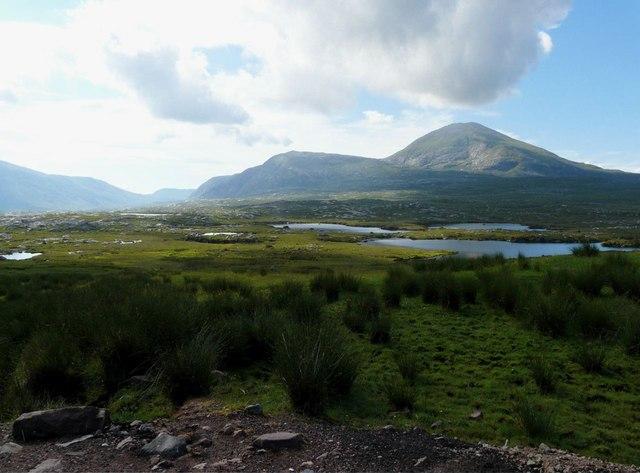 Lochan Sgeireach near Gualin House