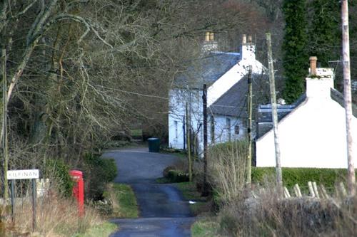Kilfinan village
