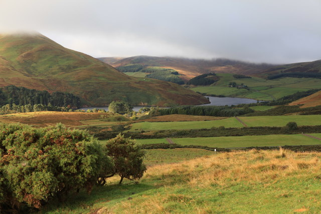 Distant Glencorse Reservoir