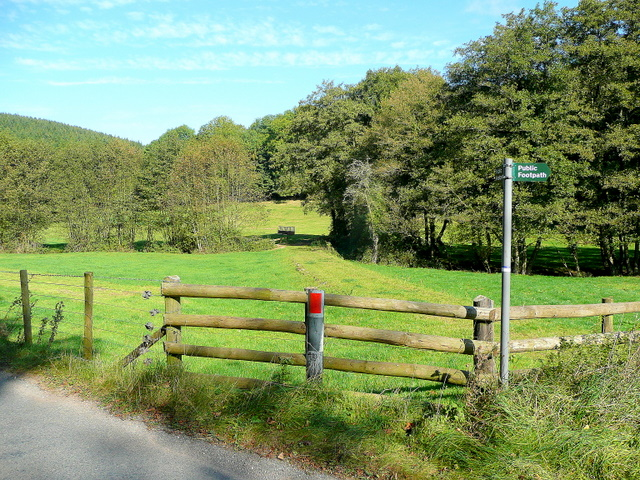 Footpaths in the Flaxley Valley 1