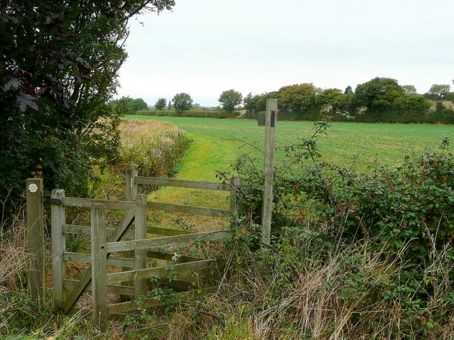 Footpath to Wickhamford
