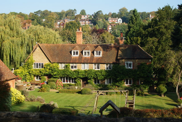 View From Sandy Lane, Guildford, Surrey