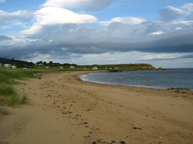 Beach near Lothbeg Point