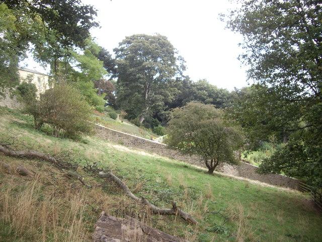 Vicarage walled garden