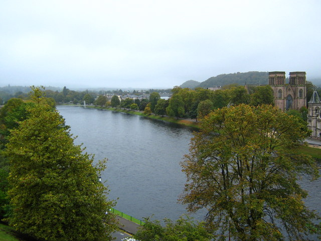 River Ness and St Andrews cathedral