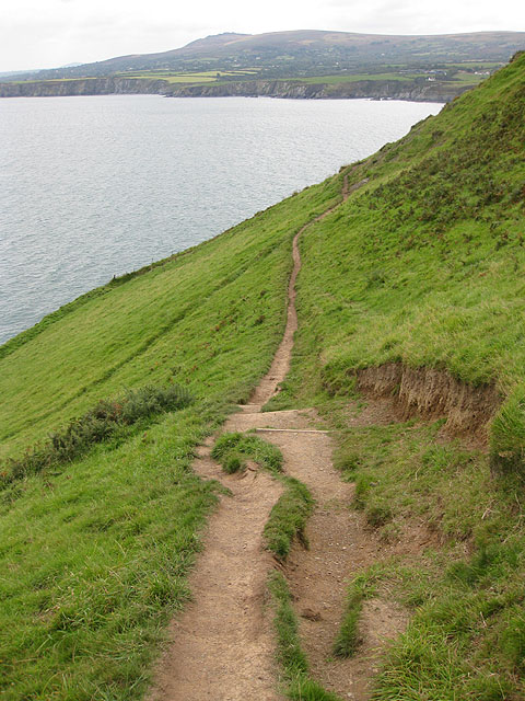 Pembrokeshire Coast Path, Dinas Island