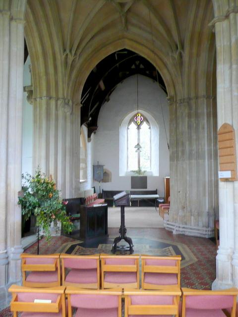 St. Peter's church, Willersey - interior
