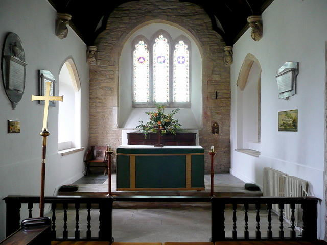 St. Peter's church, Willersey - interior
