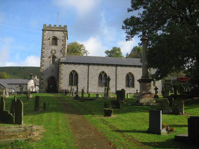 Earl Sterndale - St. Michael's Church and Churchyard