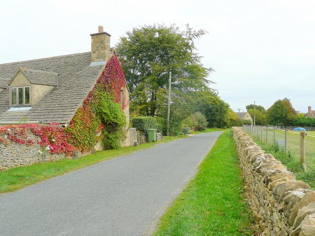 Lane to Donnington