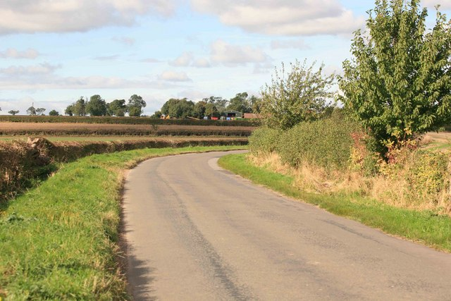 Round the bend is Upton