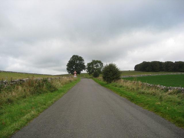 Approaching Lane Junction near Mosey Low