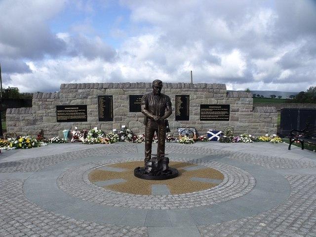 The Auchengeich Mining Disaster Memorial