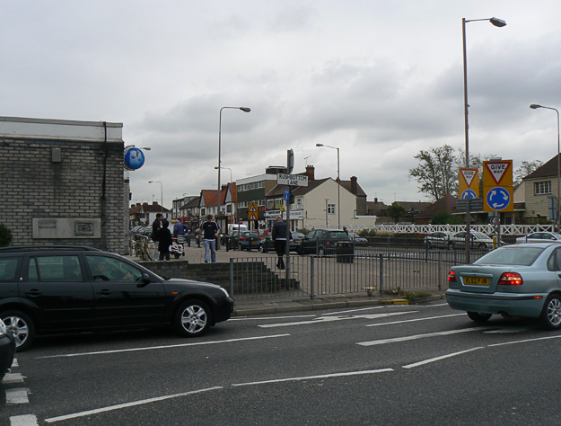 Shops at the Tarpots road junction