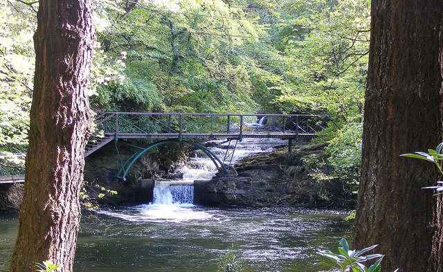 Linn Falls on the River Isla