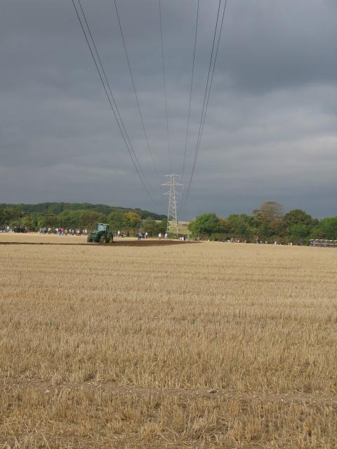 View across farmland towards Iffin Lane