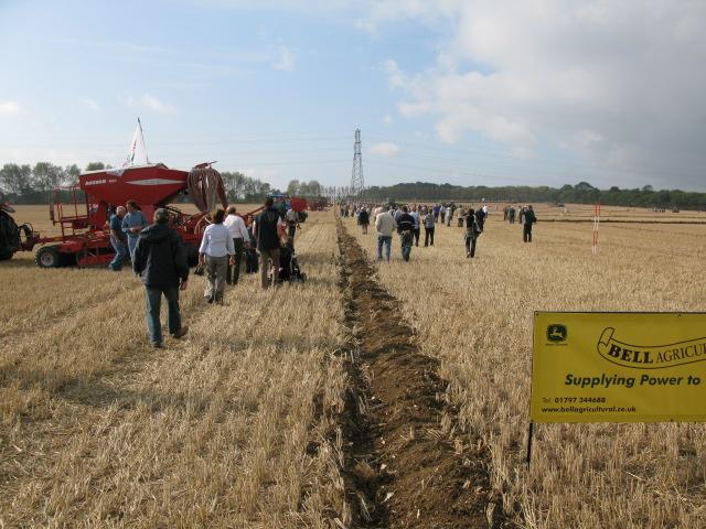 East Kent Ploughing Match on Merton Farm