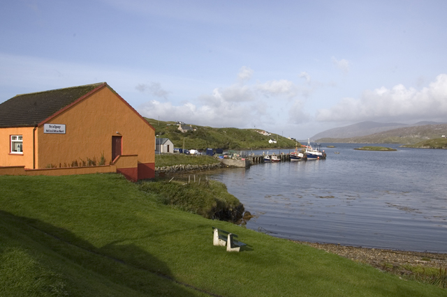Scalpay Mini Market and North Harbour
