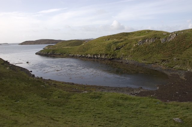 Small inlet on west coast of Scalpay