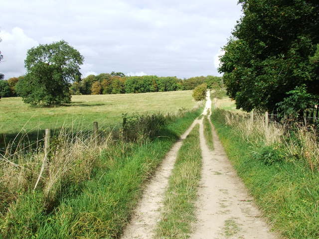 Old Road from Ullenwood to Hartley