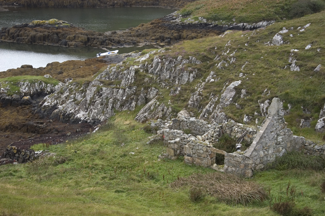 Ruined house on Scalpay