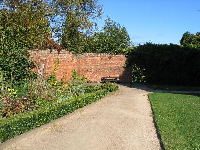 Sunny seat, Allesley Park walled garden