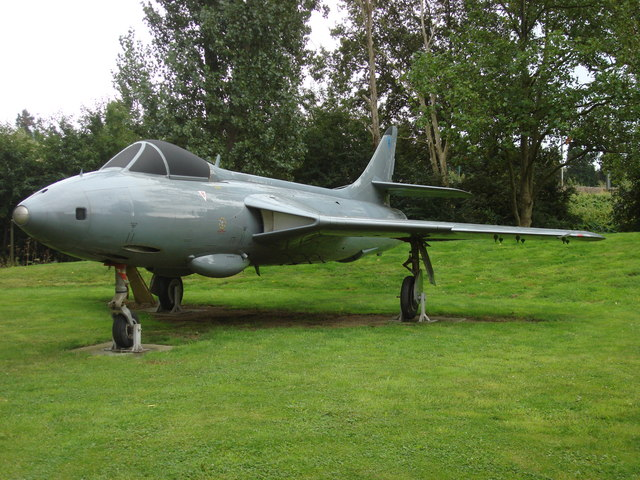 Hawker Siddeley Hunter FR.10 at the RAF Museum