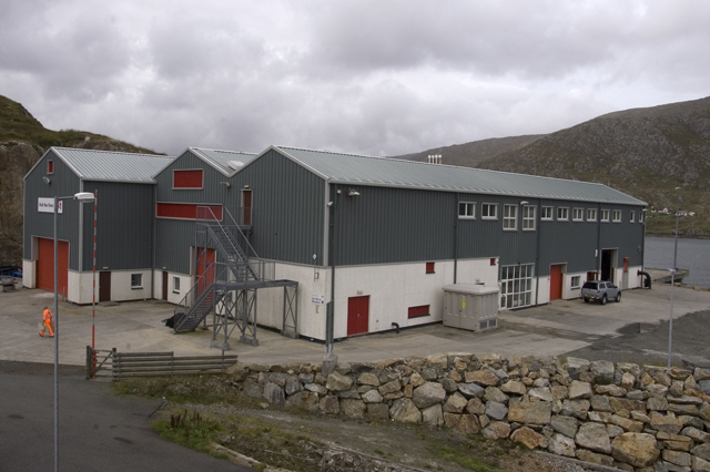 Scalpay fish processing factory