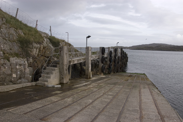 Old Scalpay ferry terminal