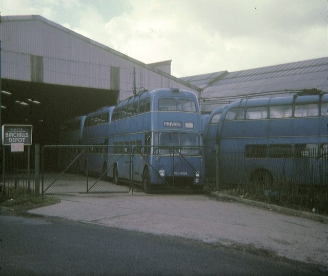 Withdrawn Walsall trolleybuses
