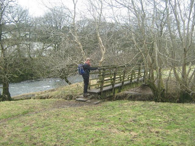 Footbridge over Ellergill Beck