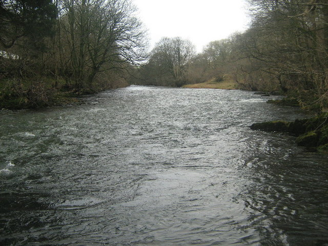 The River Lune near Crook of Lune Wood