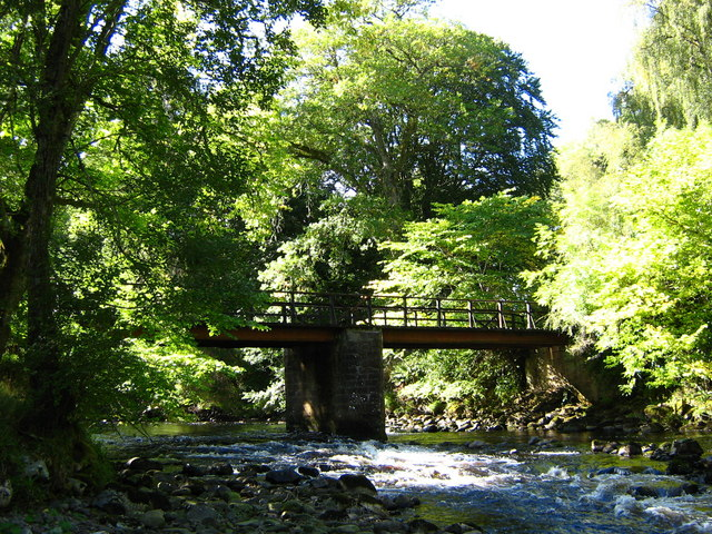 Lealty Bridge, Ardross estate