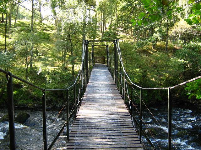 Pedestrian bridge, Ardross estate