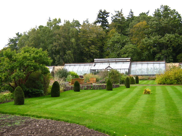 Walled garden and greenhouse, Ardross Castle