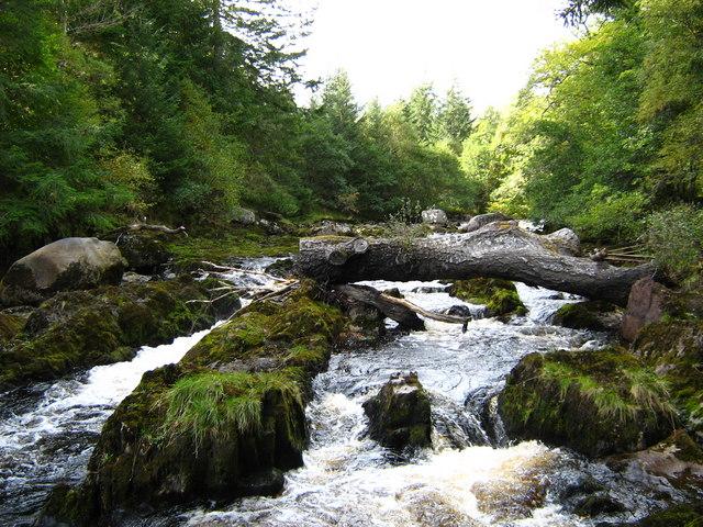 River Averon rapids