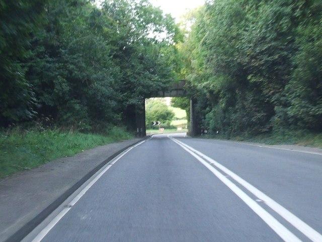 Railway Bridge near lower  Machen
