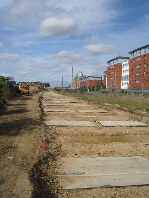 Soon to be a guided busway