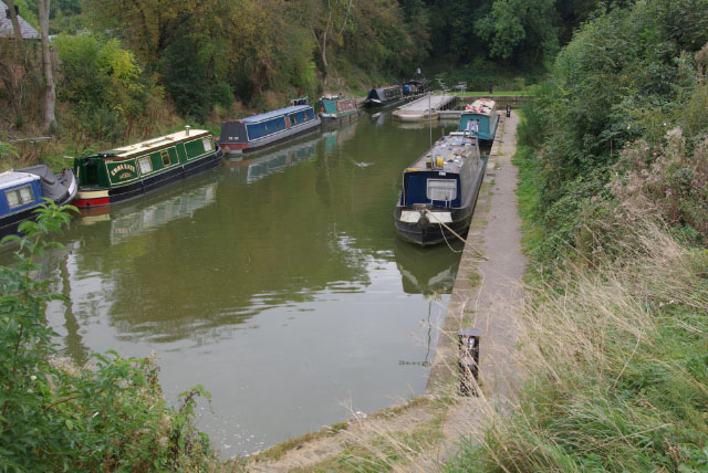 Canal arm at Foxton