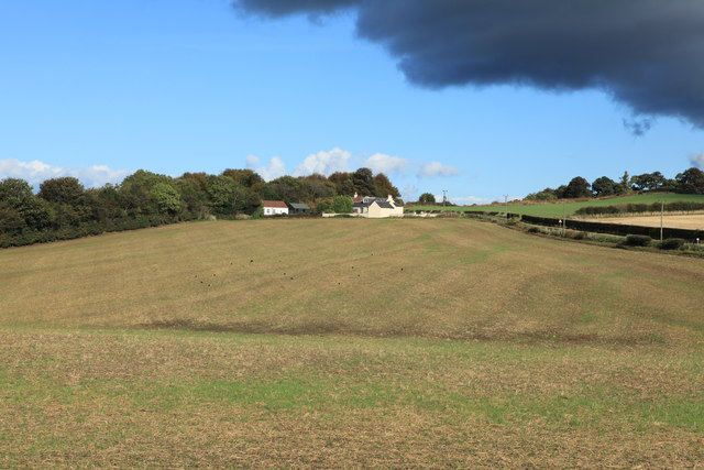 Farmland near Craigiehall