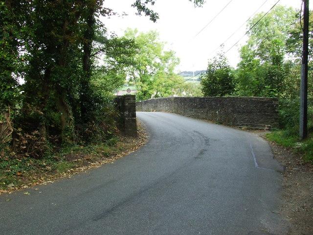 Road Bridge over the River Rhymney