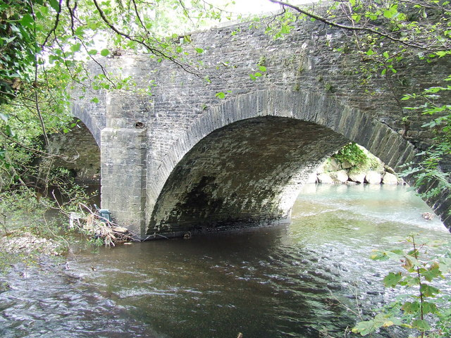 Road Bridge over River Rhymney