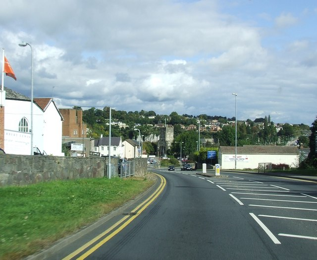Dropping down into Chepstow