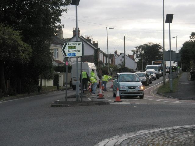 Traffic census on Bedhampton Hill (4)