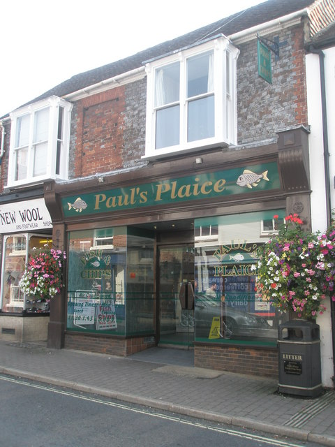 Puntastic chippy in Bishop's Waltham High Street