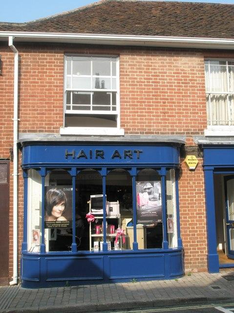 Hair Art in Bishop's Waltham High Street