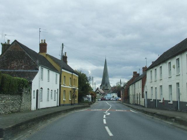 Entering Westbury heading towards Gloucester