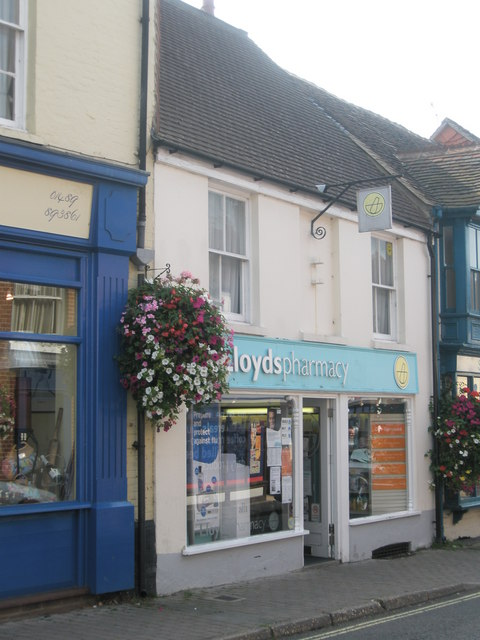 Lloyds Pharmacy in Bishop's Waltham High Street